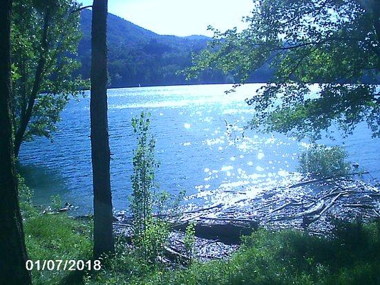 Parco Regionale dei Laghi di Suviana e Brasimone: il lago di suviana