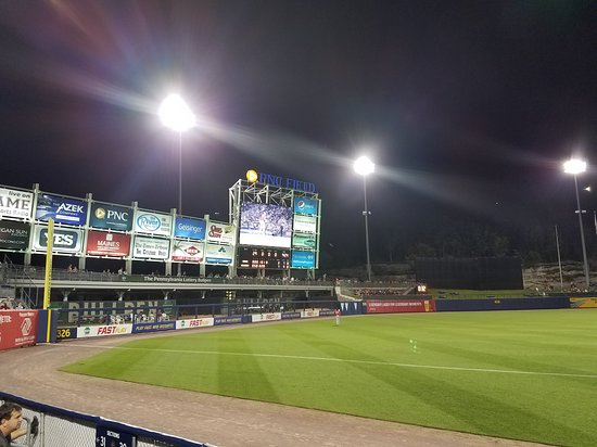 A look down left field at PNC Field - Picture of PNC Field, Moosic