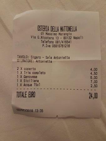 20180726_211933_large.jpg - Picture of Osteria della Mattonella ...