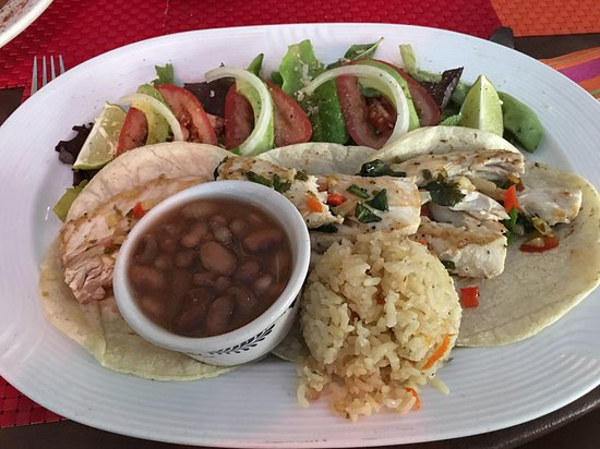 Tequila's Sunrise Bar & Grill: Chicken Tacos - $12 USD