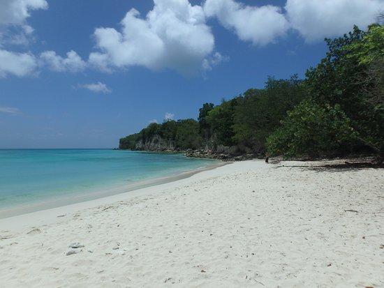 Saint Louis, Guadeloupe: plage Anse Canot