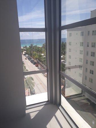 Shelborne South Beach: Sea view from corner room