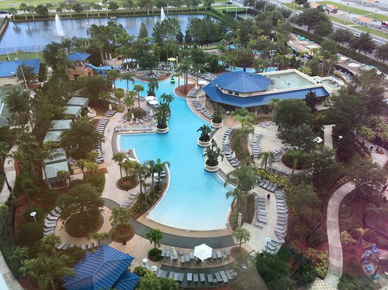 Hilton Orlando: The view from room 1249