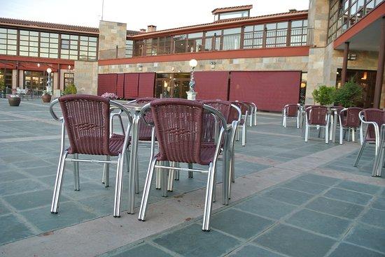 El Hotel Villa Nazules: Cafeteria