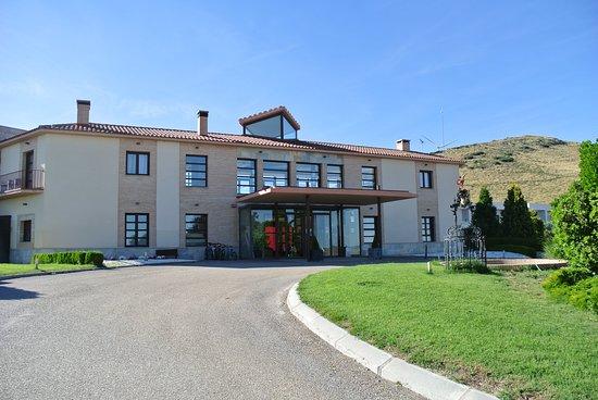 El Hotel Villa Nazules: Eingang