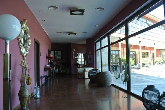 El Hotel Villa Nazules: Flur