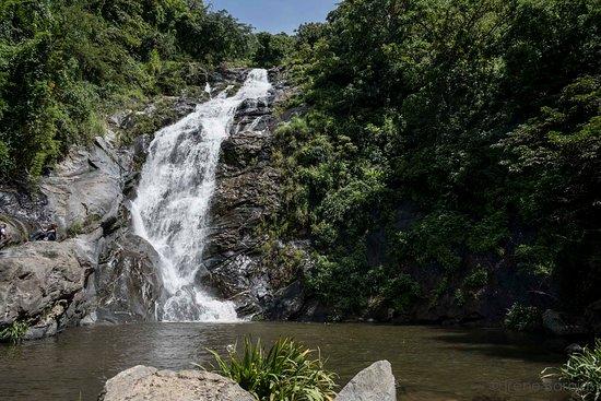 Santos Reyes Nopala, Meksyk: Cascada y poza en San Juan Lacho