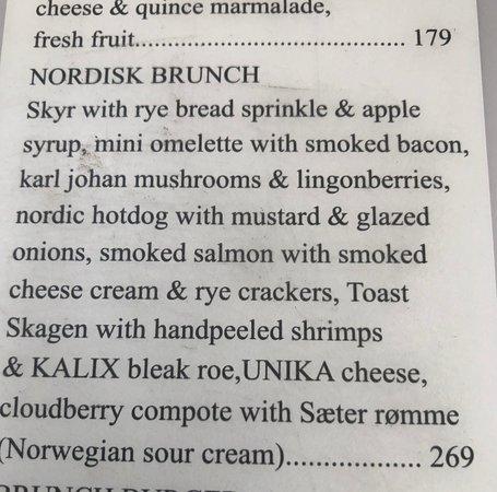 Cafe Europa 1989: Nordisk Brunch