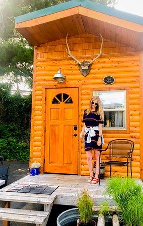 """The Cabin"" tiny house"