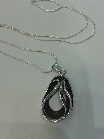 The Blue House Art Gallery: Silver with oxidation