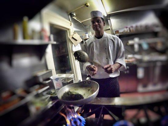Tandoori Treats: Chicken Tikka (L), Lamb Chops (R)
