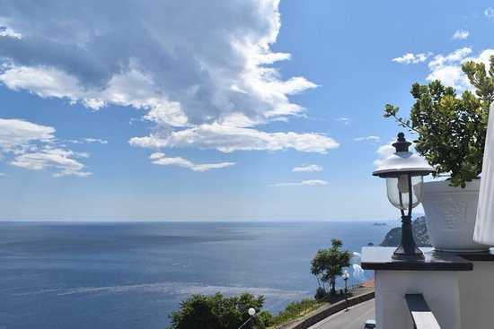 Amalfi Coast and Surrounding Area: The stunning view from the lemon lunch