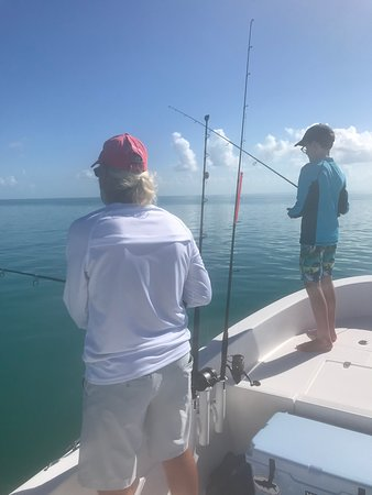 Mile Marker 27 Fishing Charters: Jim was so helpful and patient with my 11 year old son!