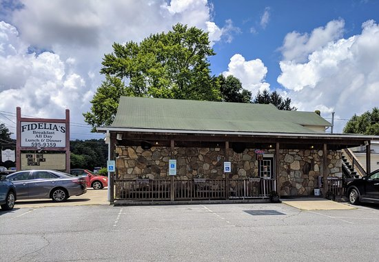 Horse Shoe, NC: Front of Restaurant