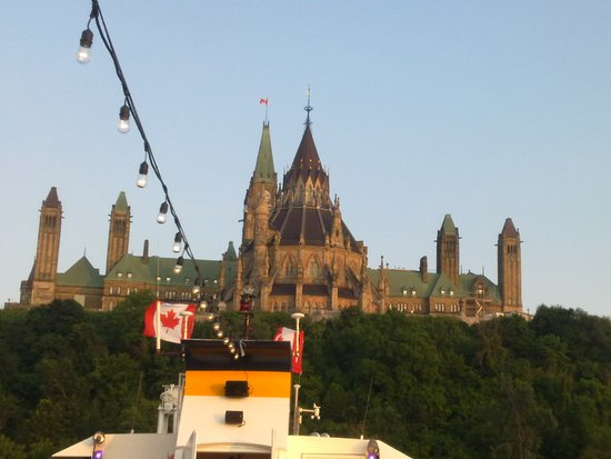 Capital Cruises: View from the boat
