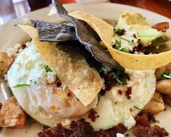 Sunny Point Cafe: Huevos Rancheros