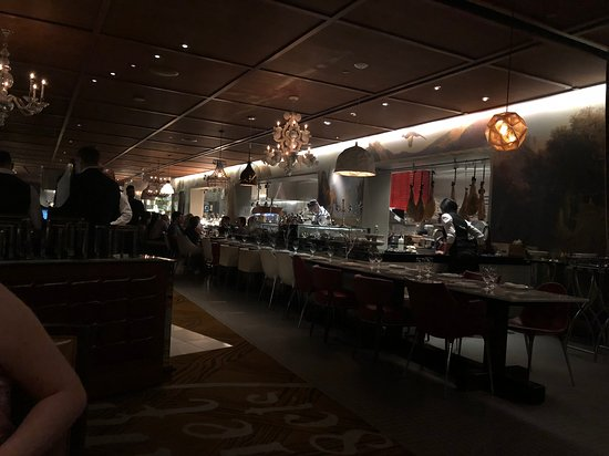 Bazaar Meat by Jose Andres: no lights were the same