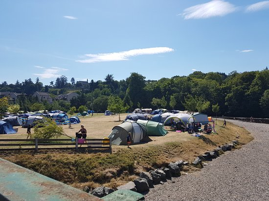 Rathdrum, Ireland: Tent pitch