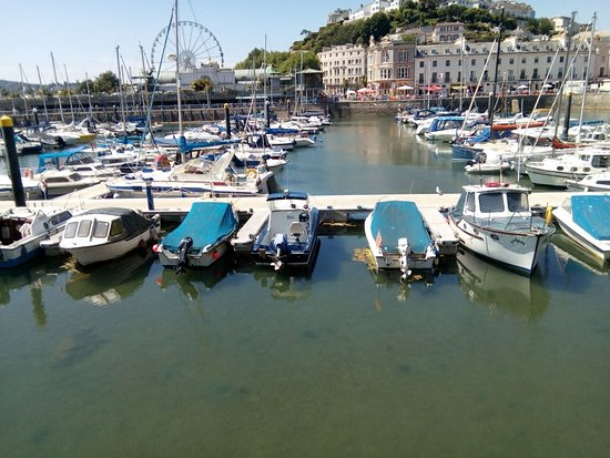Inner Harbour: Now has a modern pontoon system with a cill bridge keeping the water in at low tide.