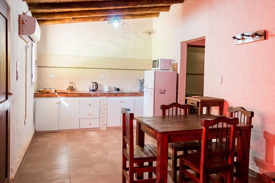 Cabanas El Remanso: Cocina comedor completamente equipada