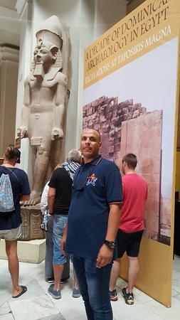 参观金字塔和埃及博物馆照片