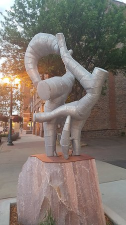 SculptureWalk Sioux Falls: 20180601_203815_large.jpg