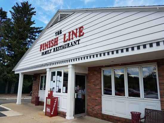 "Hillsdale's ""The Finish Line Family Restaurant"""