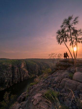 Katherine, Australien: Nitmiluk at sunrise