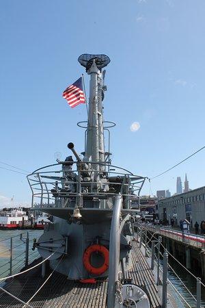 美国二次大战时的潜水艇照片