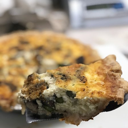 Our quiche is a local favorite!
