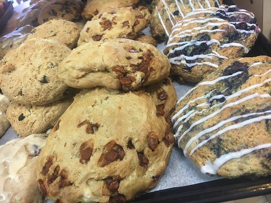 Cookeville, TN: Made from scratch Scones!!! Coffee anyone?