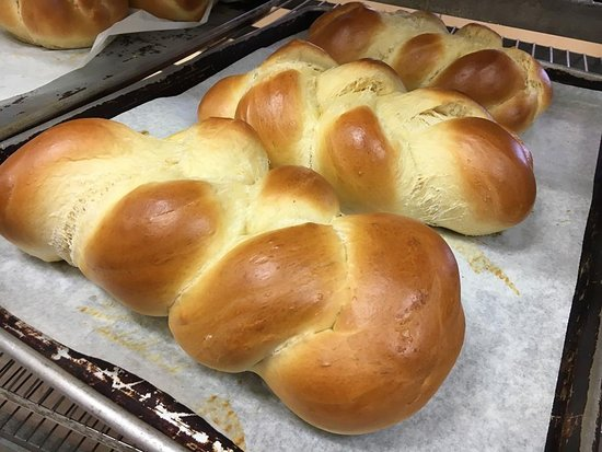 Cookeville, TN: Braided Challah Bread! Always a treat.