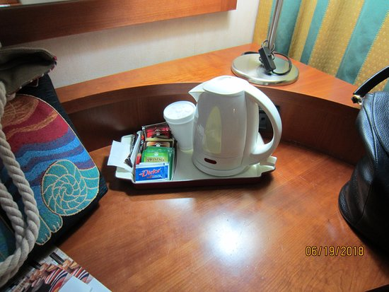 Best Western Hotel Cavalieri Della Corona: Coffee maker