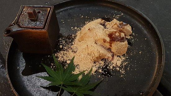 Jinjo: dessert rice cake