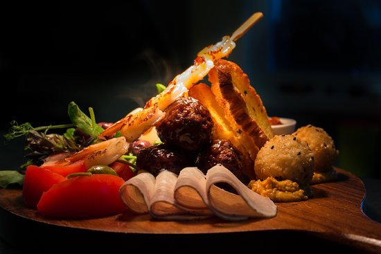 Stony River Country Diner: Anti Pasto platter for TWO