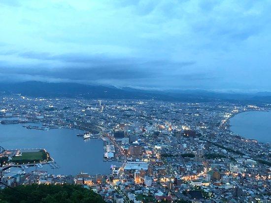 函馆山照片