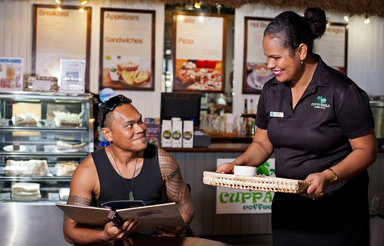 Cuppabula Cafe @ Tappoo: Friendly staff