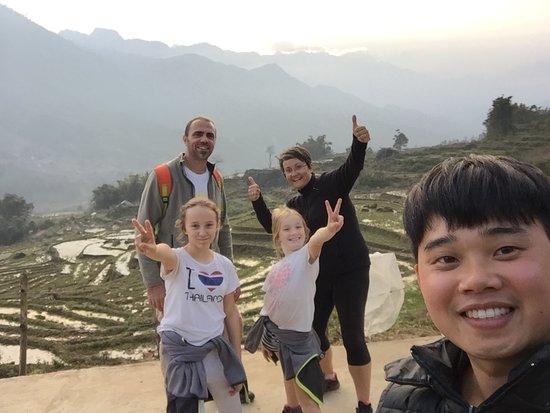 Freedom Homestay: trekking time