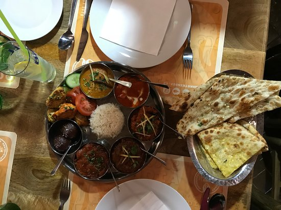 Namaste India Indian Restaurant: Perfektné jedlo