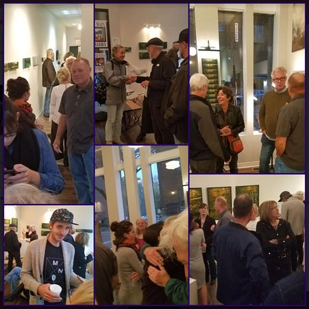 200 Main Gallery: Openings are always dynamic and well-attended!