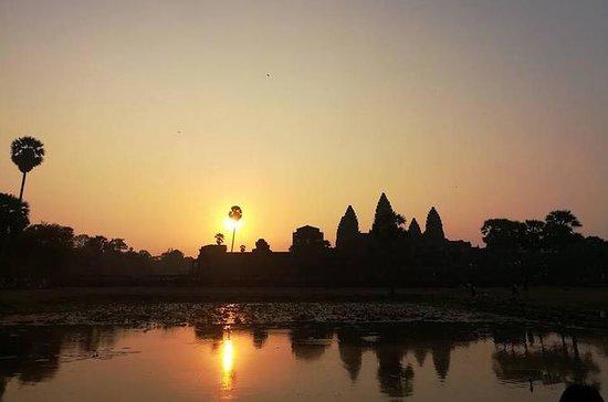 Salida del sol Angkor Wat, Angkor...