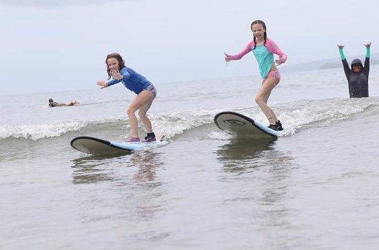 Lecciones de surf semiprivadas