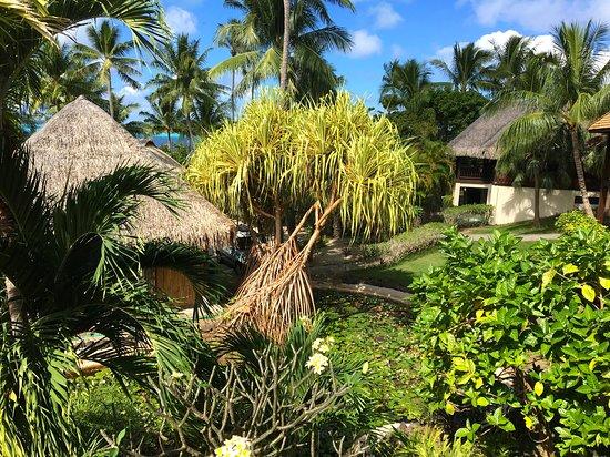Maitai Polynesia Bora Bora: chambre côté jardin