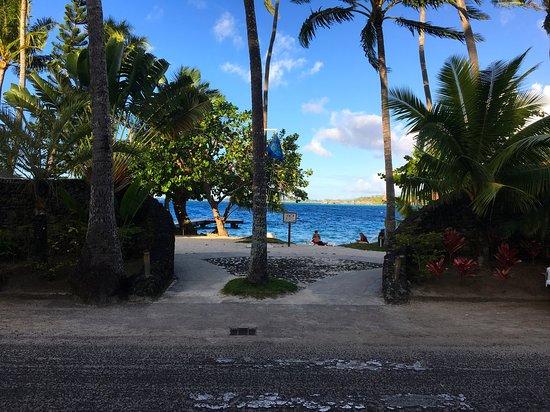Maitai Polynesia Bora Bora: vue de l'hôtel