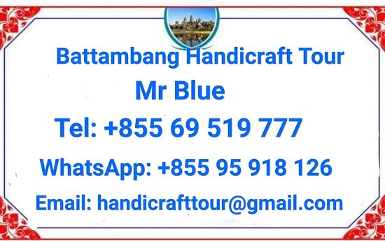 Battambang Handicraft Tour