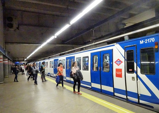 Madrid Metro照片