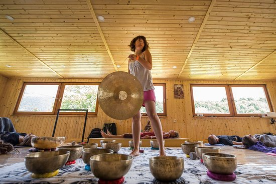 Sound healing group meditation - Picture of Sound Therapy