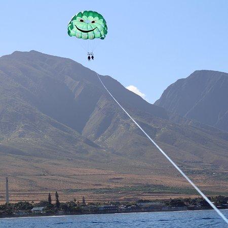 Maui Parasailing Experience van Ka'anapali Foto