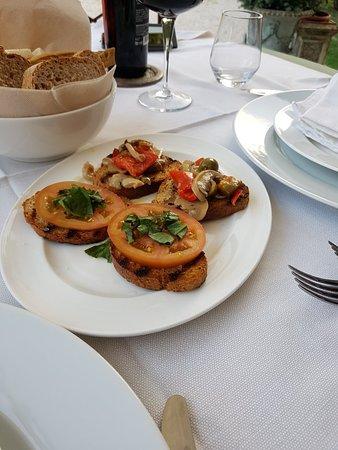 Scuderie della Civita: Heerlijk gegeten en zalig zwembad