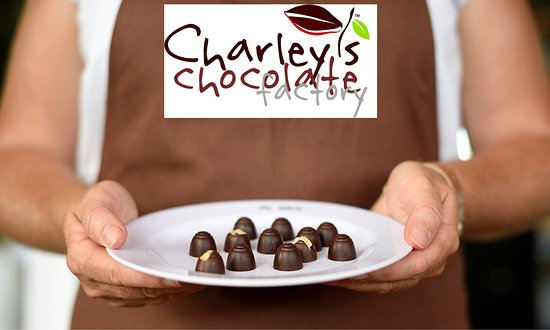 Mission Beach, Australie : Chocolate tasting at Charley's Chocolate Factory